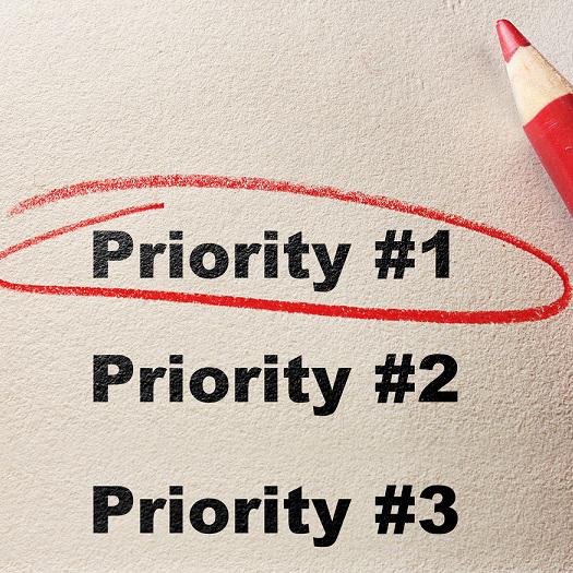 prioritise