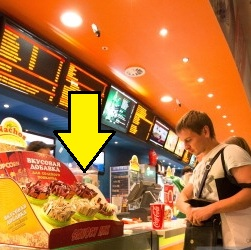 snack counter