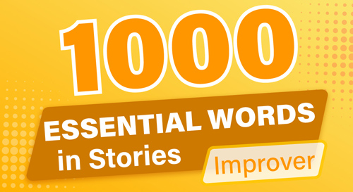 1000 ESSENTIAL WORDS in STORIES (Improver)