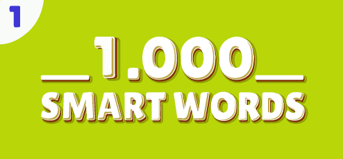 1000 SMART WORDS NO.1