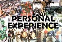 PERSONAL EXPERIENCES - LISTENING & SPEAKING