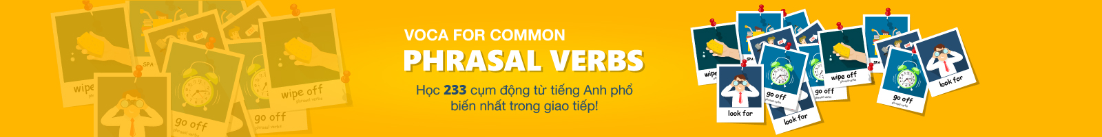 VOCA for Common Phrasal Verbs