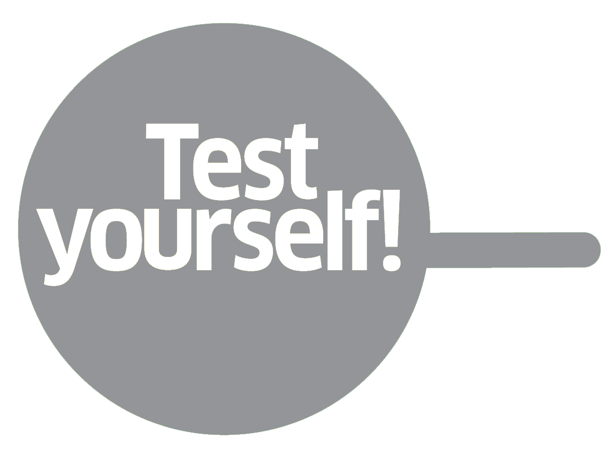 TEST YOURSELF F