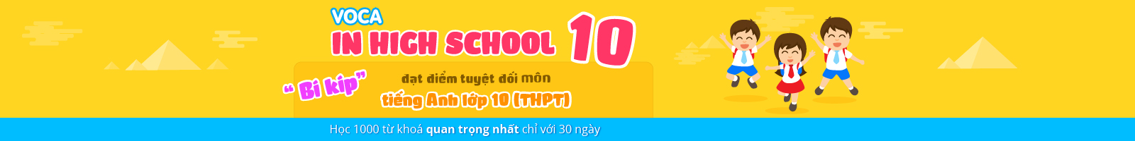 TIẾNG ANH LỚP 10