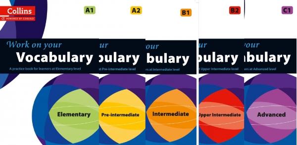 Giáo trình Work on your Vocabulary của nhà xuất bản Collins.