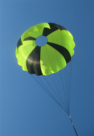THE HISTORY OF PARACHUTES
