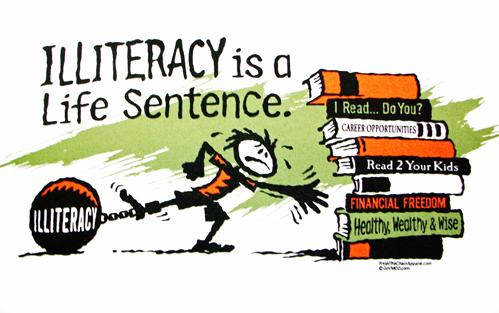 ILLITERACY - READING