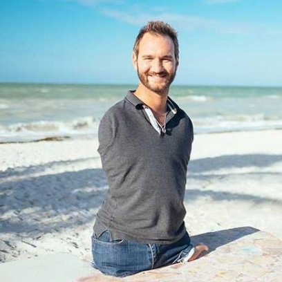 NEVER GIVE UP BY NICK VUJICIC