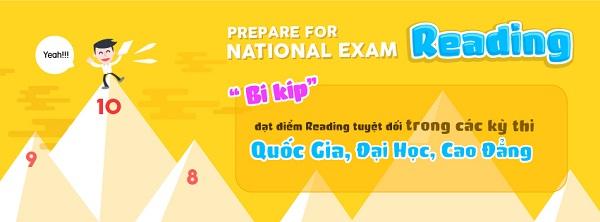 Prepare For National Exam: Bộ từ vựng 'nhất định phải học' khi luyện thi THPT, Đại Học môn tiếng Anh