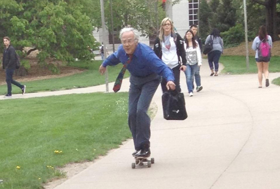 SEVENTY-YEAR-OLD COLLEGE STUDENT