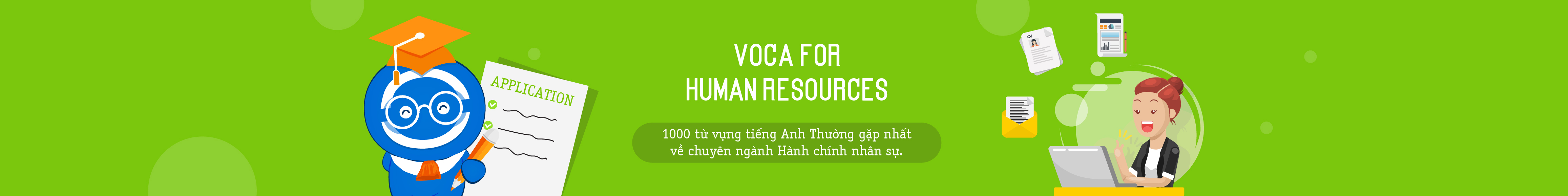 VOCA FOR HUMAN RESOURCES
