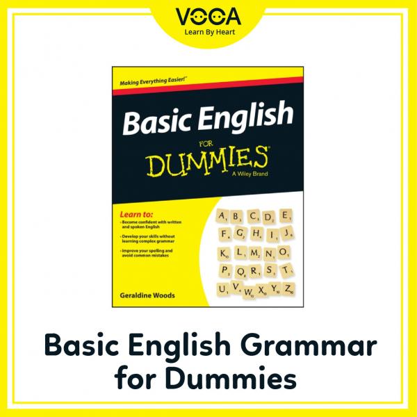 Basic English Grammar for Dummies – Geraldine Woods