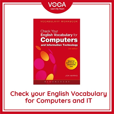 check your english vocabulary for computer and it