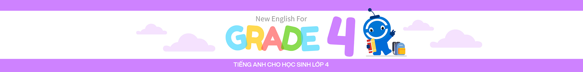 NEW ENGLISH FOR GRADE 4