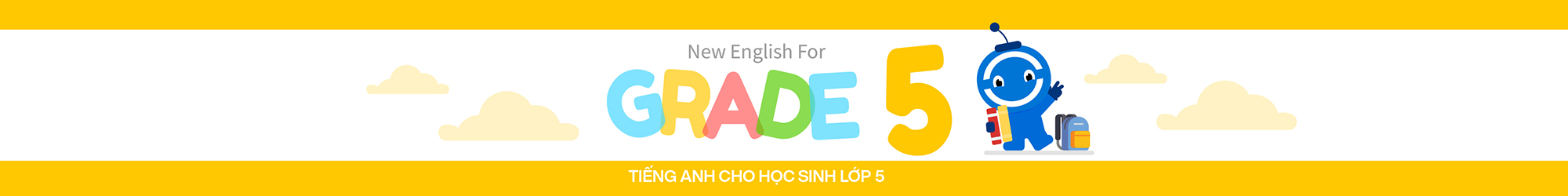 NEW ENGLISH FOR GRADE 5