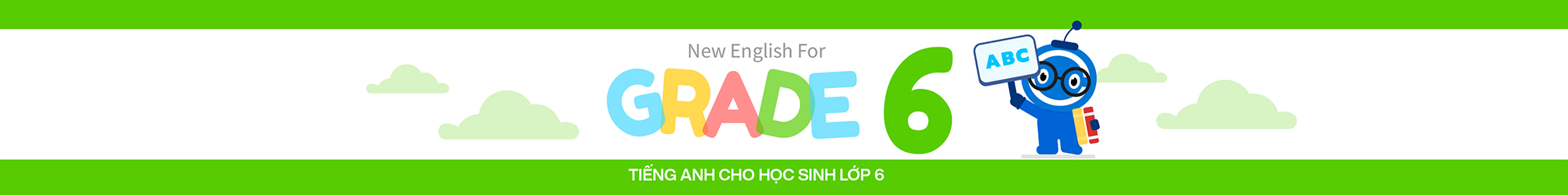 NEW ENGLISH FOR GRADE 6