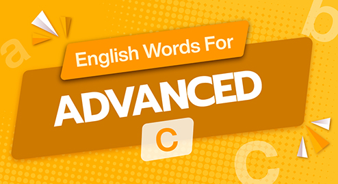 English Words For Advanced (C1+2)