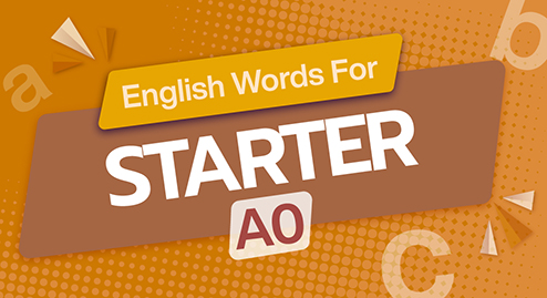 English Words For Starter (A0)