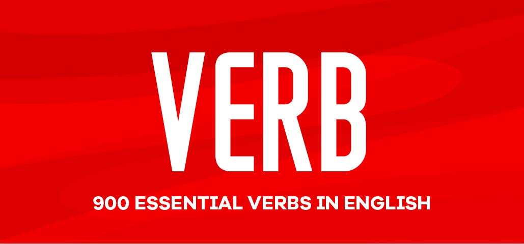 900 Essential Verbs in English