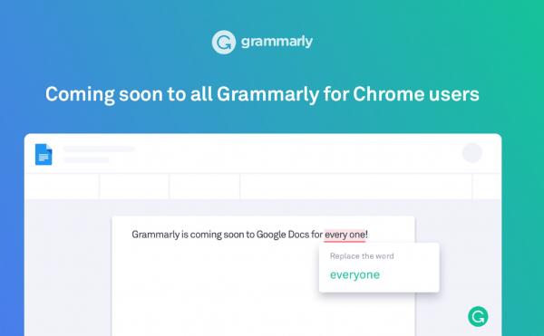 Giao diện trang Grammarly