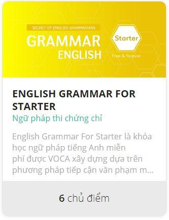 học ngữ pháp miễn phí