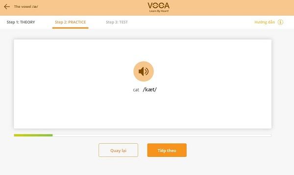 Dạng bài tập cấu tạo âm trên VOCA Pronunciation 4