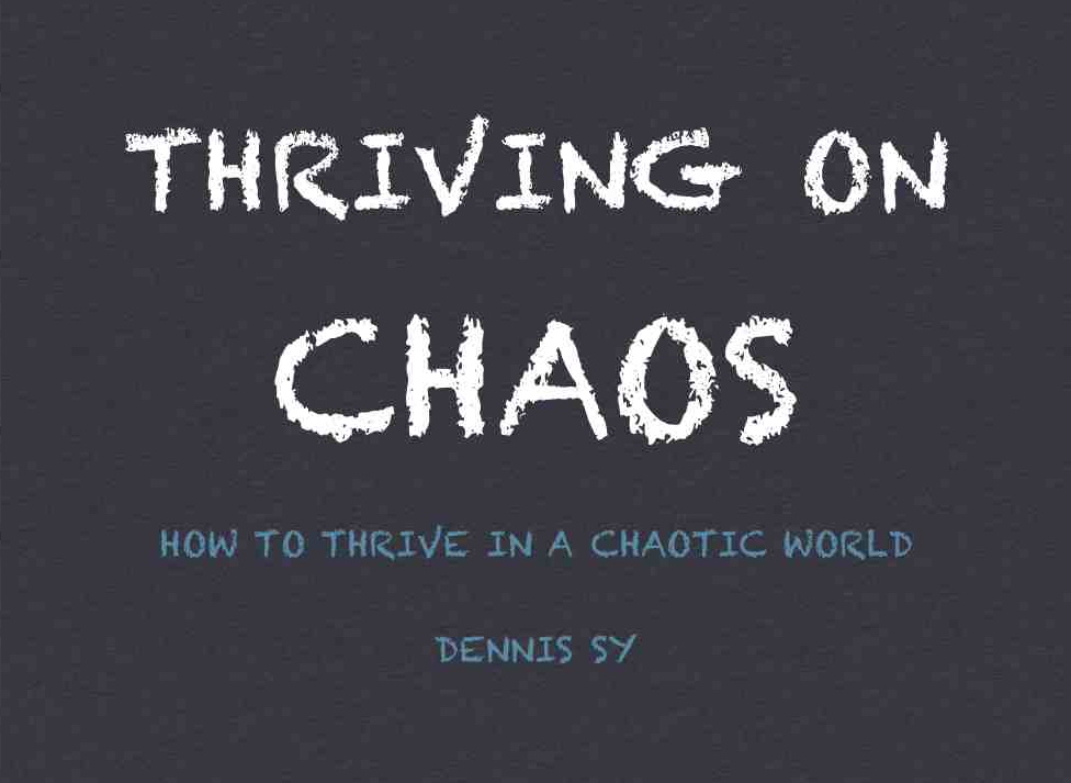 thriving on chaos In this getabstract summary, you will learn: how to thrive in an atmosphere of unceasing change why constant improvement is mandatory why your firm must emphasize customer service and which specific strategies will move your company ahead.