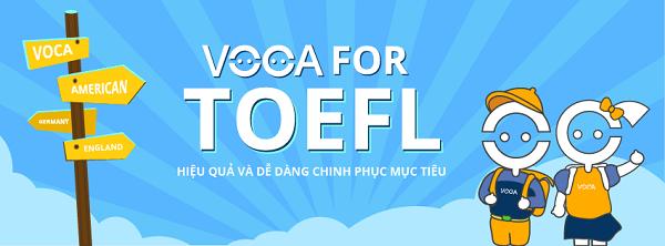 VOCA For TOEFL: 1000 từ vựng thường gặp nhất trong kỳ thi TOEFL