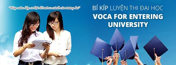 VOCA for Entering University: Bộ từ vựng ôn thi Đại học môn tiếng Anh