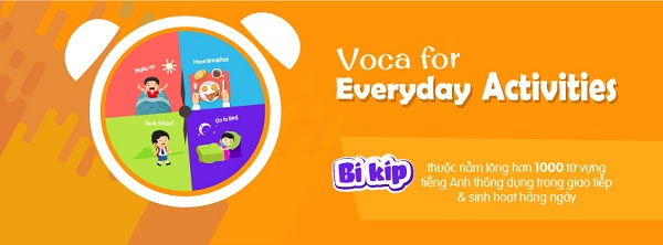 VOCA for Everyday Activities: 1000 từ vựng tiếng Anh thông dụng nhất trong giao tiếp