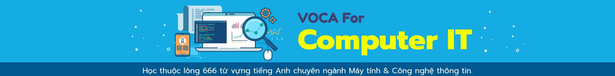 VOCA FOR COMPUTER