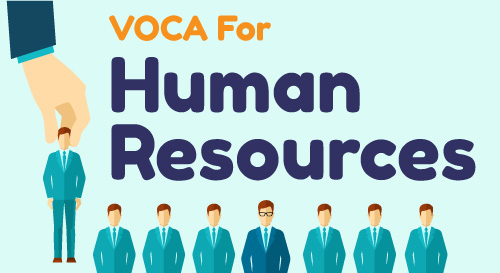 VOCA FOR HUMAN RESOURCES