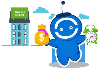VOCA giúp bạn tiết kiệm tối đa học phí học tiếng Anh.