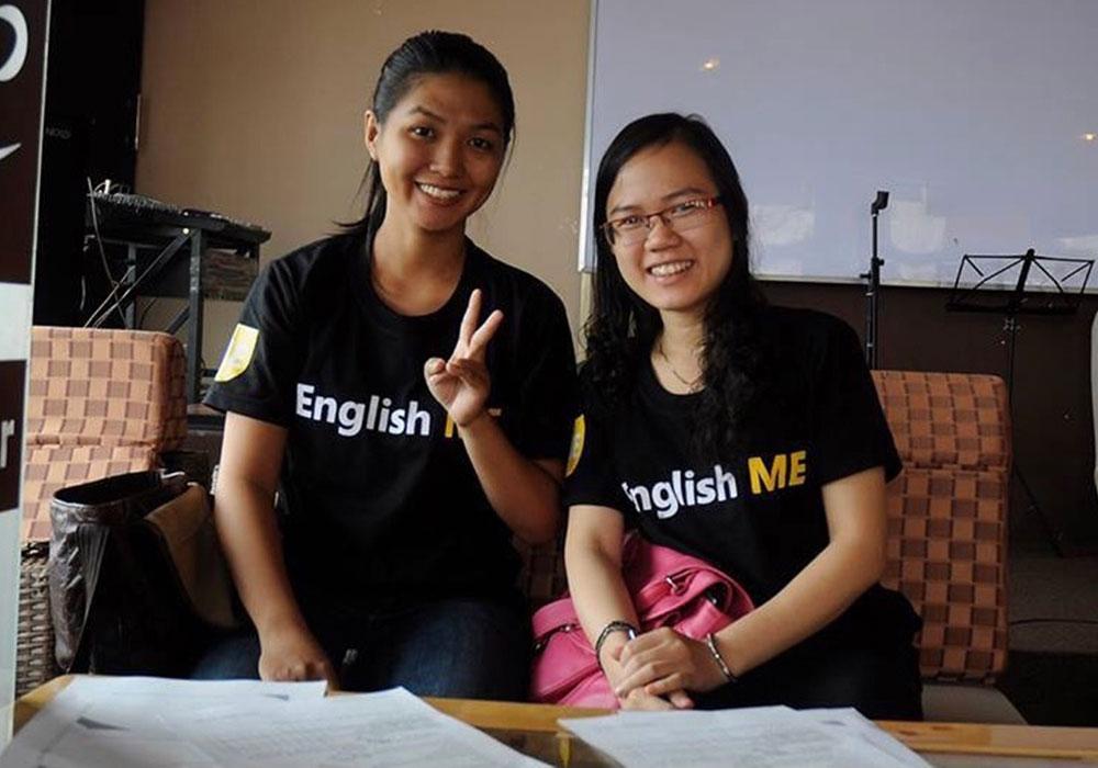 Câu lạc bộ tiếng Anh English ME