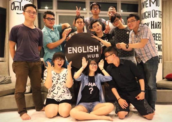 Câu lạc bộ tiếng Anh English Hub