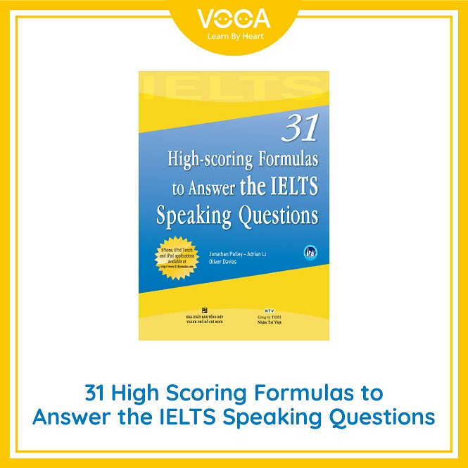 Ebook ~ 31 high scoring formulas to answer IELTS speaking question