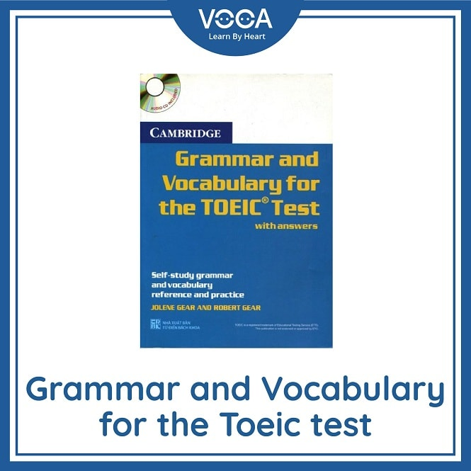 Ebook ~ Grammer and Vocabulary for TOEIC Test with answer