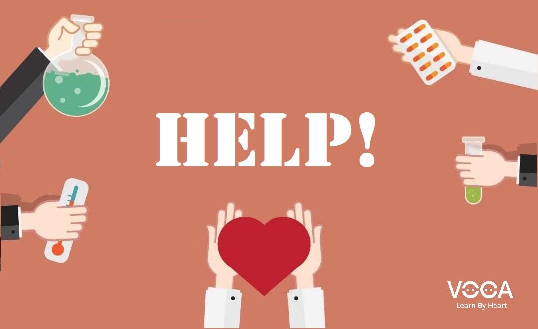 Những cách nói khi yêu cầu sự giúp đỡ