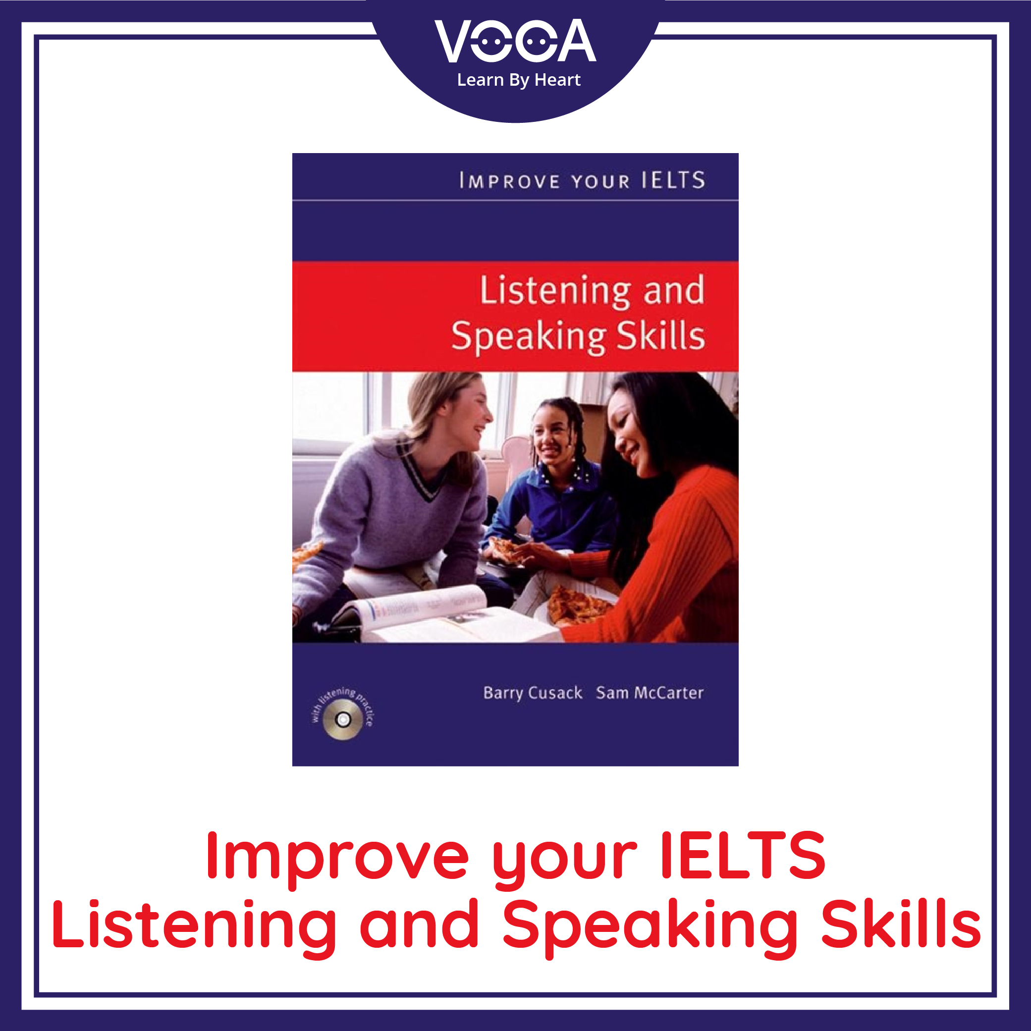 Ebook ~ Improve Your IELTS – Listening And Speaking Skill ( Full PDF + Audio)
