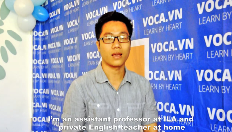 Learn English with VOCA (Hop Le Thanh, from Ho Chi Minh city)