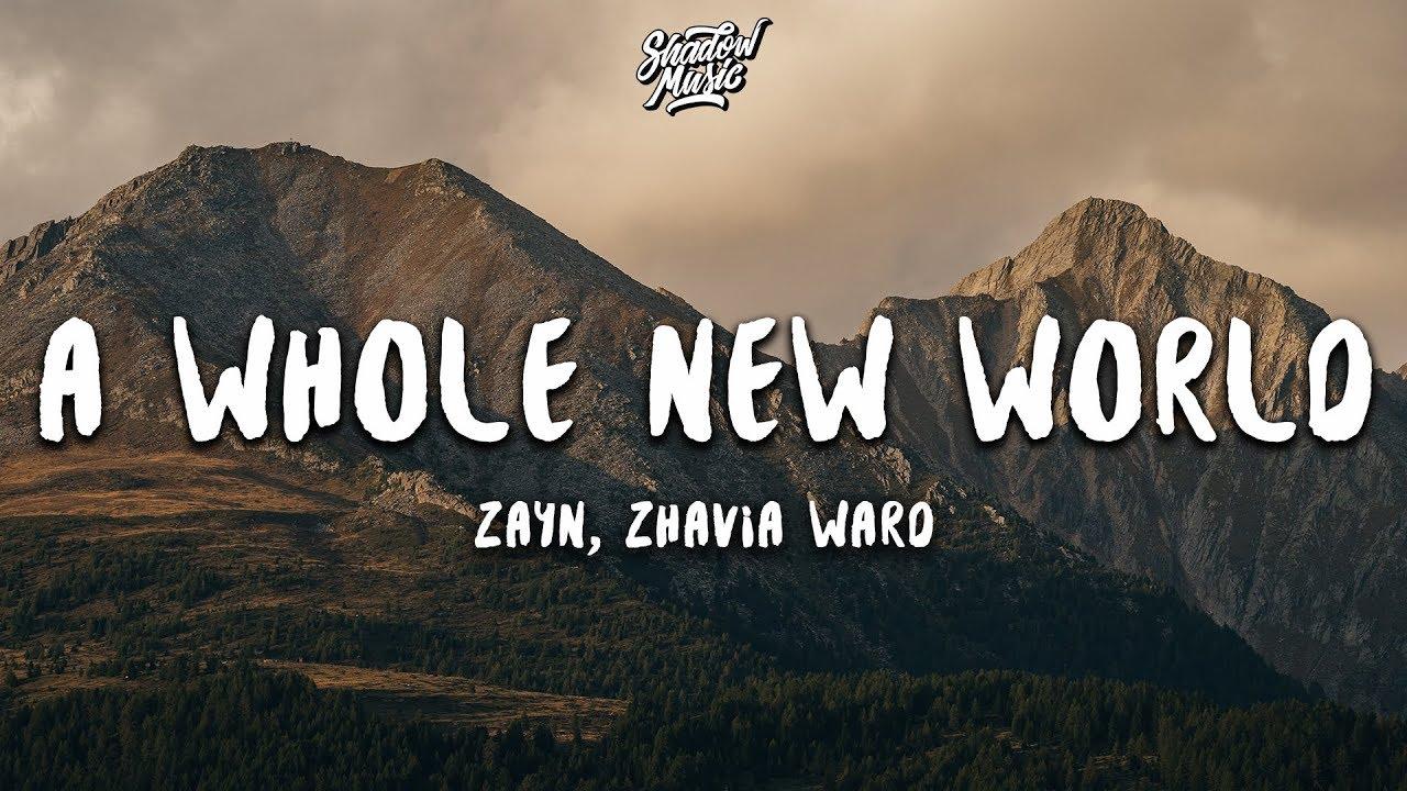 Lời dịch bài hát A Whole New World