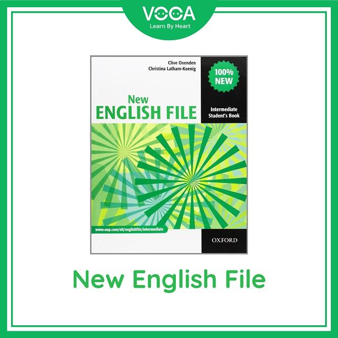 Trọn bộ học tiếng Anh giao tiếp New English File (NXB Oxford)
