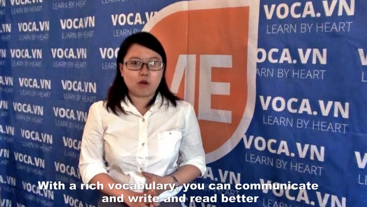 Learn English with VOCA (Ngan Thuy Tran, from Ho Chi Minh city)