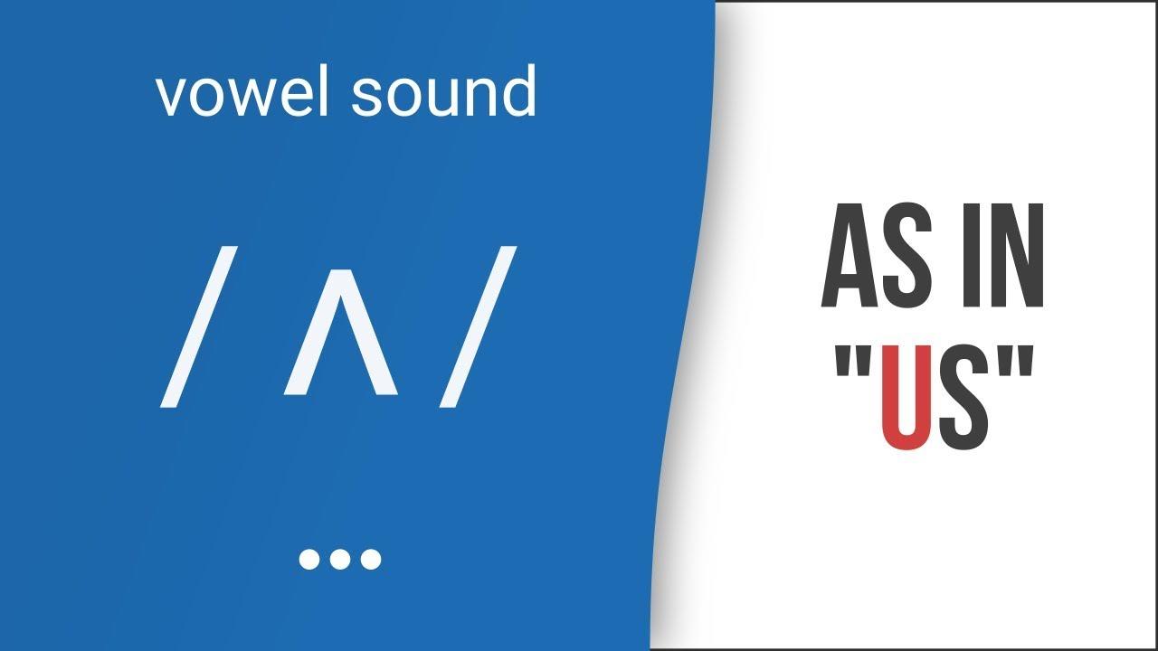 Hướng dẫn cách phát âm tiếng Anh | nguyên âm /ʌ/  hoặc /ə/  | Vowel /ʌ/ or /ə/