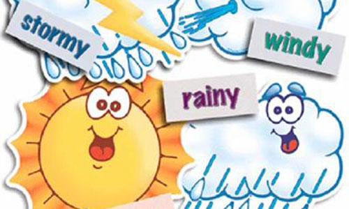 Những mẫu câu Tiếng Anh nói về thời tiết