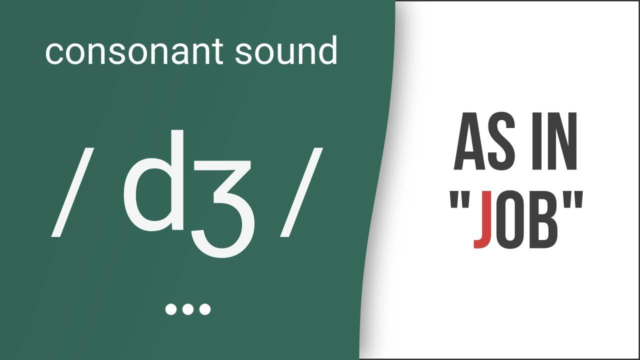 Hướng dẫn cách phát âm tiếng Anh | phụ âm /dʒ/ | Consonants /dʒ/