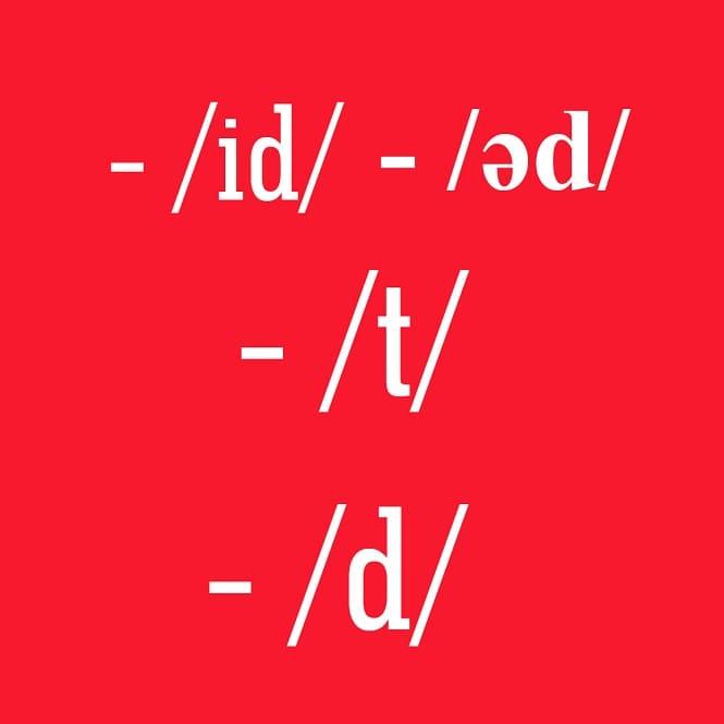 Cách phát âm đuôi ed chuẩn bản ngữ trong tiếng Anh