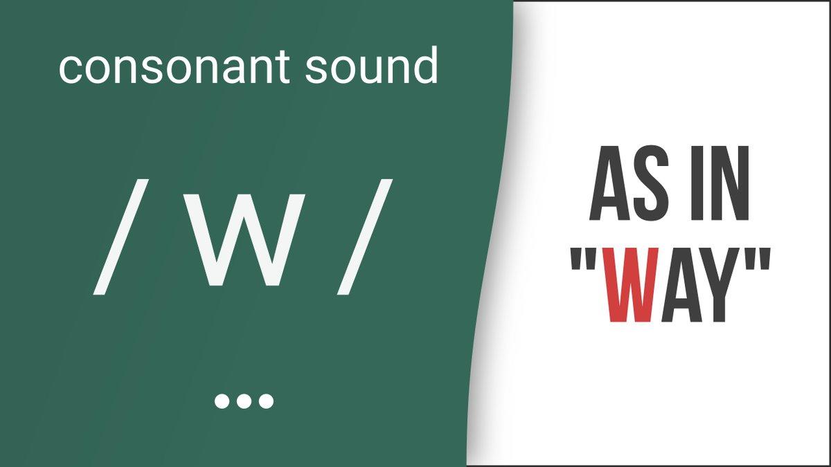 Hướng dẫn cách phát âm tiếng Anh | phụ âm /w/ | Consonants /w/