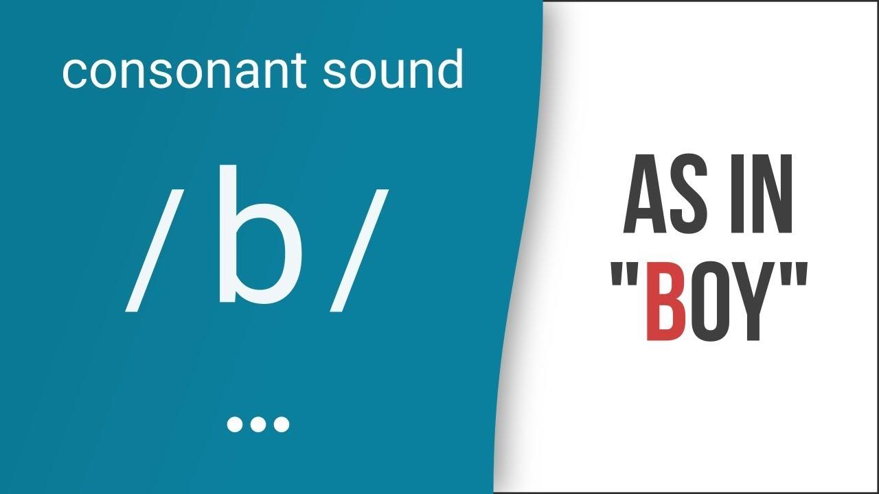 Hướng dẫn cách phát âm tiếng Anh | phụ âm /b/ | Consonants /b/
