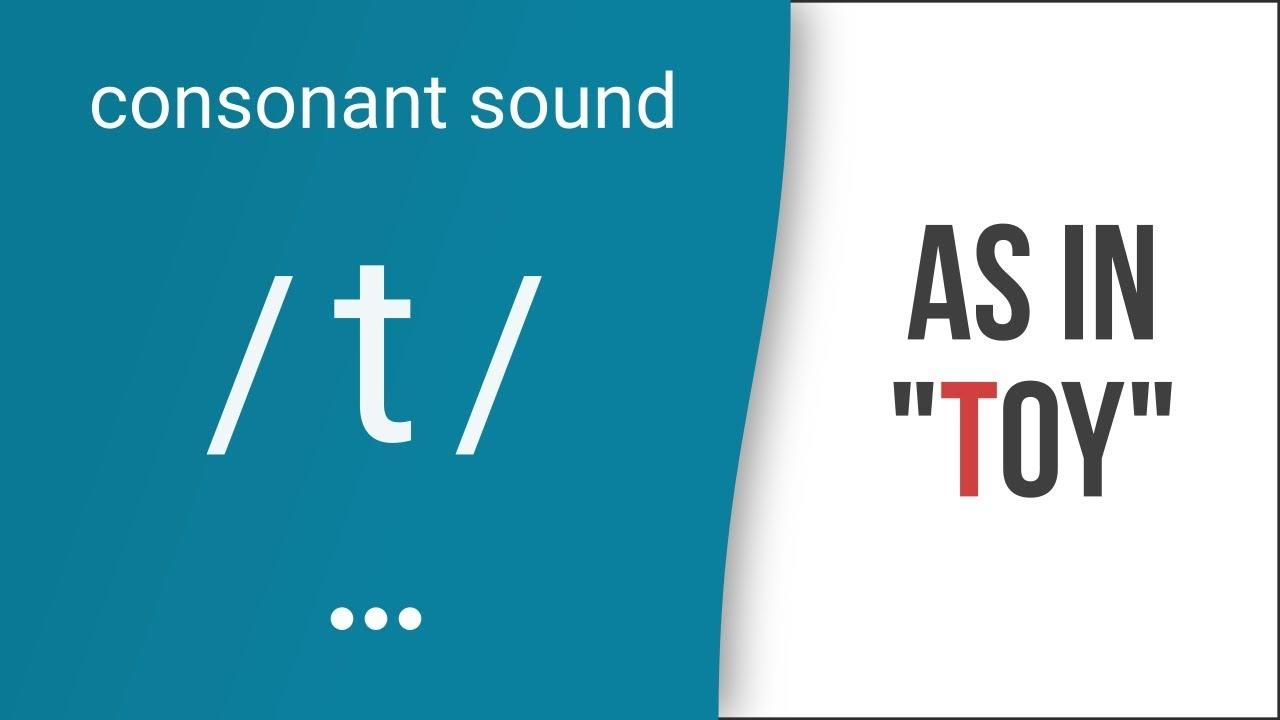 Hướng dẫn cách phát âm tiếng Anh | phụ âm /t/ | Consonants /t/